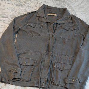 Gray safari jacket